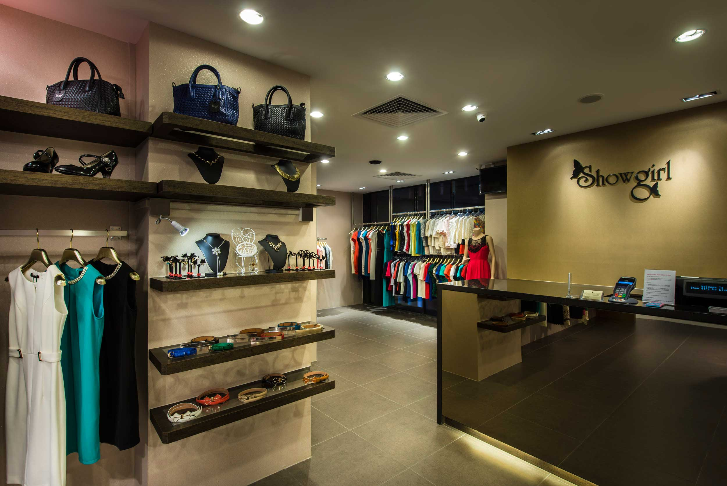 Interior store design for Boutique interior design